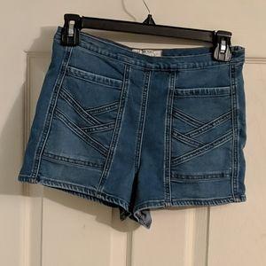 Free People high waist shorts
